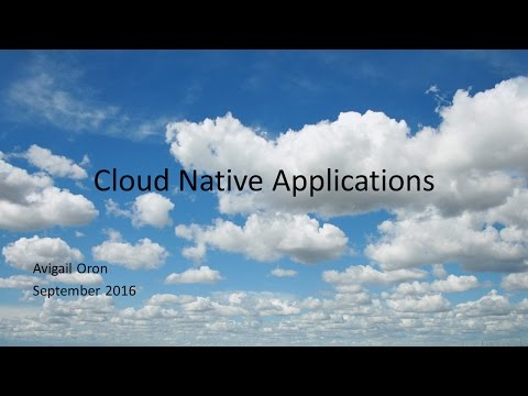 Cloud native apps 101