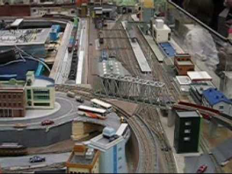 N Scale Module Layout at Greenberg Train Show – Wilmington, Massachusetts