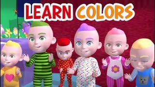 Learn Colors - Numbers and ABCs - 3D Nursery Rhymes for Kids by Kachy TV - Kids Songs