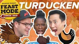 Craziest Thanksgiving Foods Taste Test • Feast Mode Hunger Squad