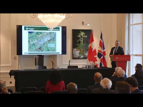 Strongbow Exploration investor presentation by Richard Williams at CMS 2018