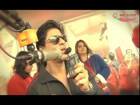 Sharukh khan talks to Radio Mirchi