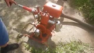 Пожежна помпа МП 600 випробування 1 ч.