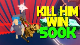 Kill The Owner Of Strucid Win 500 000 $ - Défi Roblox