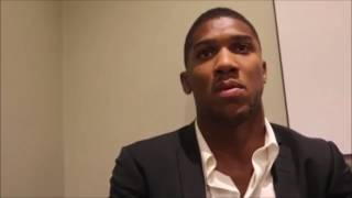 Anthony Joshua Talks About Mosque Visit