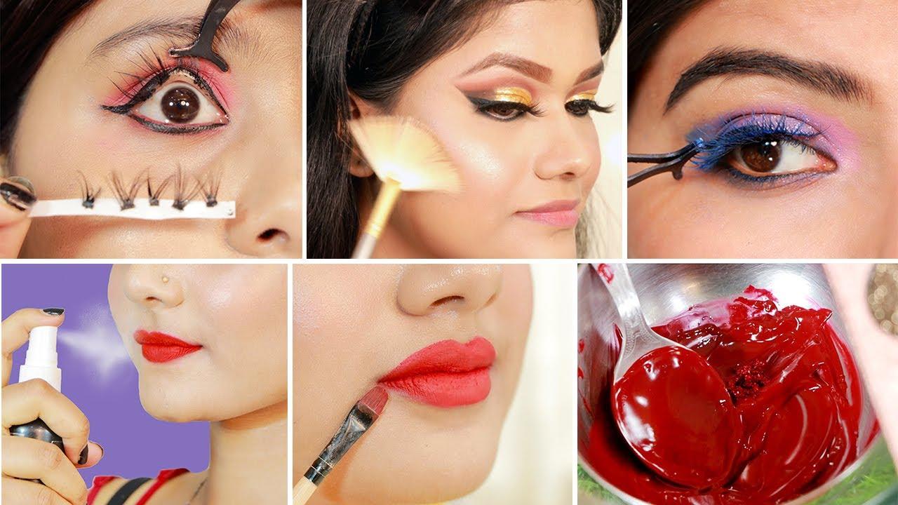 Brilliant & Crazy BEAUTY & LIPSTICK Hacks Every Girl Should Know | Amazing Makeup Hacks