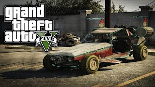 GTA 5 Online: SECRET Alien Car - Space Docker (GTA V)