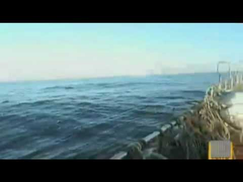 UFO-USO Craft escapes jetfighters in ocean depths 2009 + subs