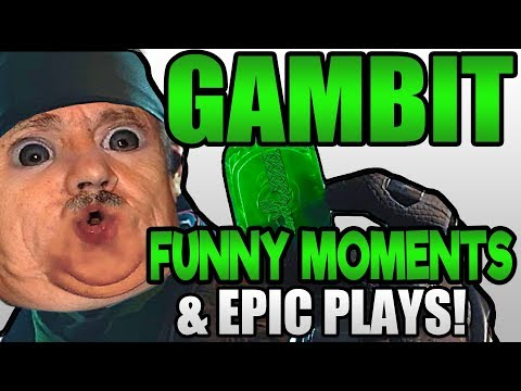 GAMBIT Funny Moments and EPIC PLAYS! | Destiny 2 Forsaken
