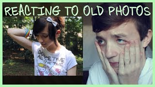 TRANS KID REACTING TO OLD PHOTOS | ChandlerNWilson