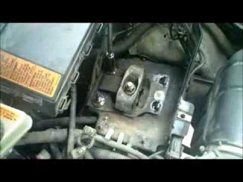 transmission mount replacement ford focus youtube