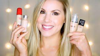 Favorite Drugstore Foundations for Dry Skin