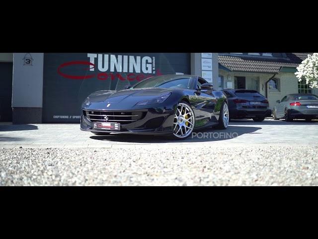 Ferrari Portofino auf Schmidt Gambit in 21 Zoll und 22 Zoll
