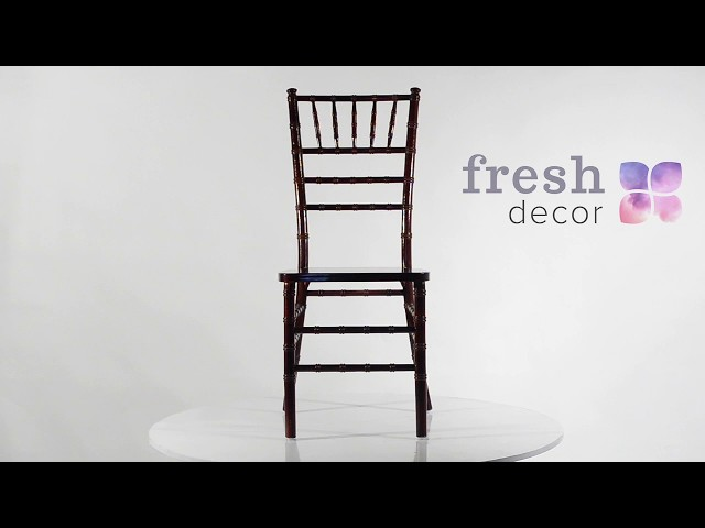 Деревянный стул Кьявари Махагони удобный и качественный стул. Стулья для дома, ресторана и кафе.
