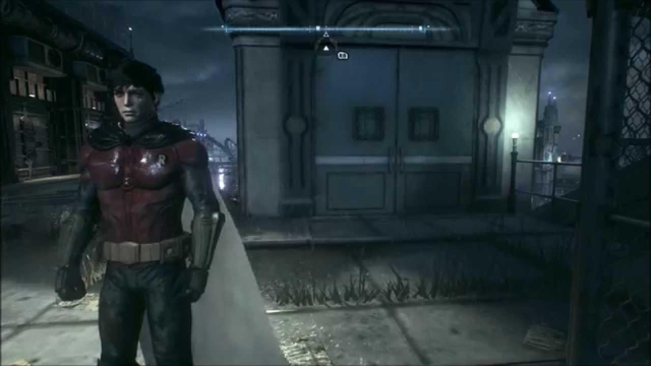 batman arkham knight mod playable jason todd with cape and