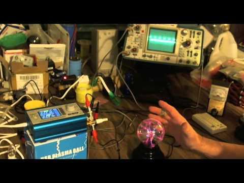 2 Channel Plasma Ball Demo