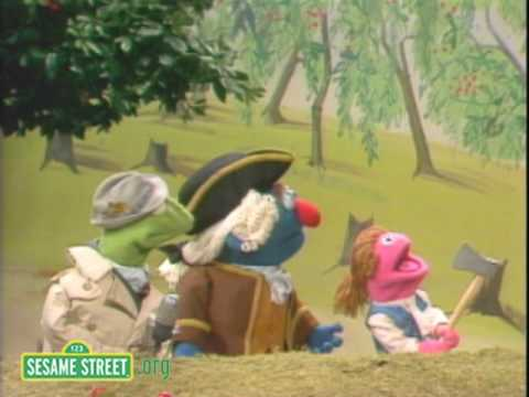 Sesame Street: Kermit News: Washington's Father