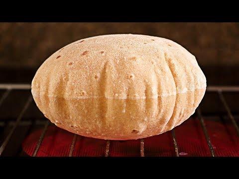 Chapati -  Pan sin levadura, sin horno ¡en sartén! SUB🇬🇧