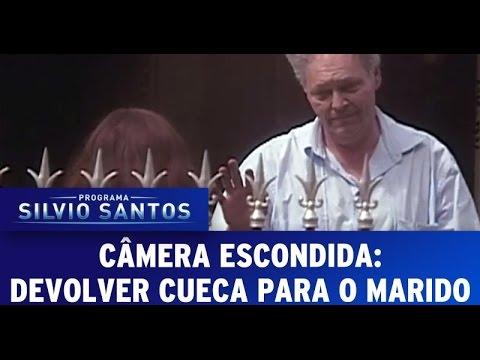 Câmera Escondida (28/08/2016): Devolver cueca para o marido