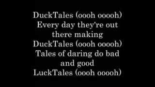 Ducktales (Theme Song)   lyrics