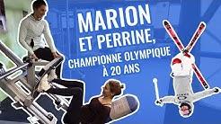 MARION SÉCLIN RENCONTRE UNE CHAMPIONNE DE SKI DE BOSSE ! (PERRINE LAFFONT)