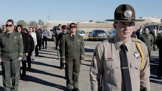 Sheriff Raymond Loera performs the department's annual inspection