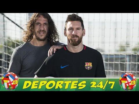 """El día que Messi """"hundió en la miseria"""" a Puyol"""