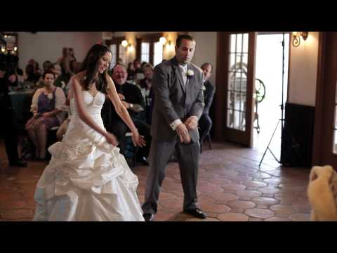 Michelle + Joel - Dancing in the Rain - Orange County Wedding Cinema