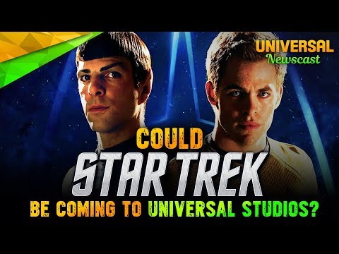 Is STAR TREK, Terminator 2: 3D's Replacement? - Universal Studios News 10/04/2017