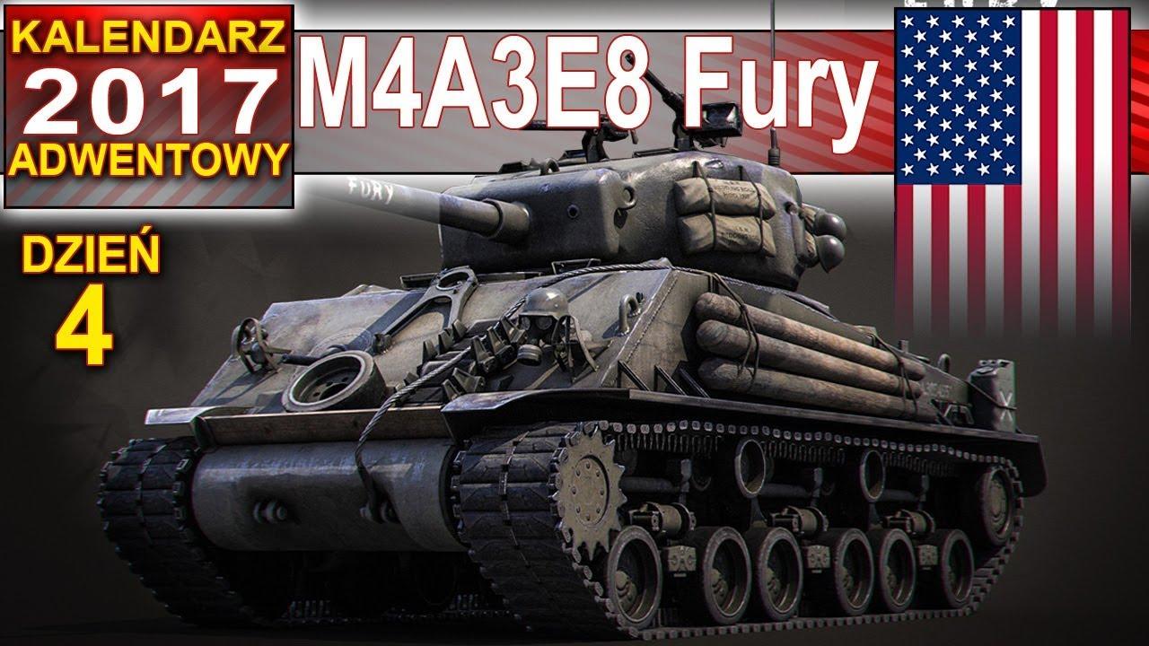 M4A3E8 za mało furii w Furii – World of Tanks