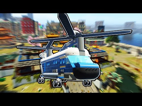Lego Police unlocks and captures the FINAL Lego ALIEN! - Lego City Undercover 100%