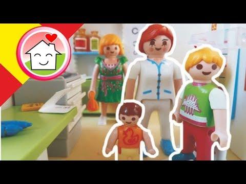 Playmobil en español Lena se hace un chequeo preventivo / La Familia Hauser