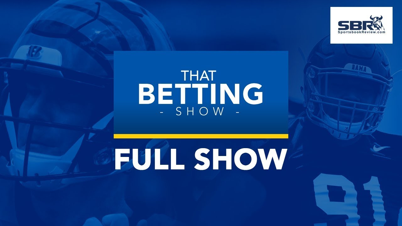 First Glimpse Of NFL Football | Betting Odds, NFL Predictions & More! |  That Betting Show