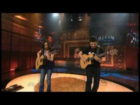 "Rodrigo y Gabriela - ""Hanuman"" 3/23 Leno (TheAudioPerv.com)"