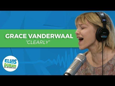 """Grace VanderWaal - """"Clearly"""" Acoustic   Elvis Duran Live"""