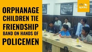 Dwarka police interacts with orphanage kids