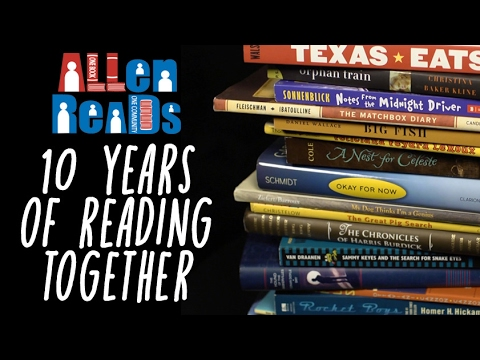ALLen Reads: Celebrating 10 Years of Reading Together