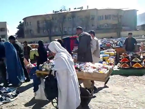 Afghan women shopping in Kabul