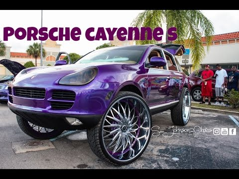 Porsche Cayenne on 32 inch Rucci Forged wheels in hd (Must see)
