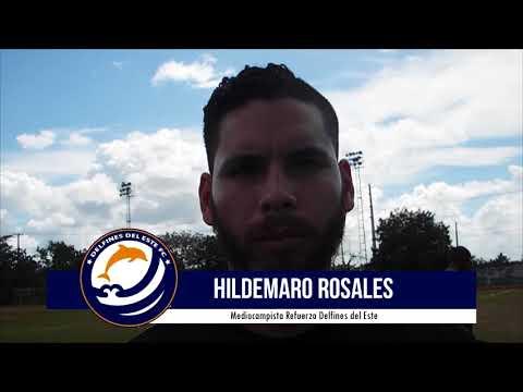 Hildemaro Rosales expresa que se siente cómodo jugando en el Medio Campo