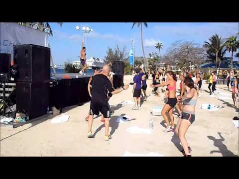 LIVE Brazil Butt Lift Workout on the Beach - Atlantis Beachbody Coach Trip