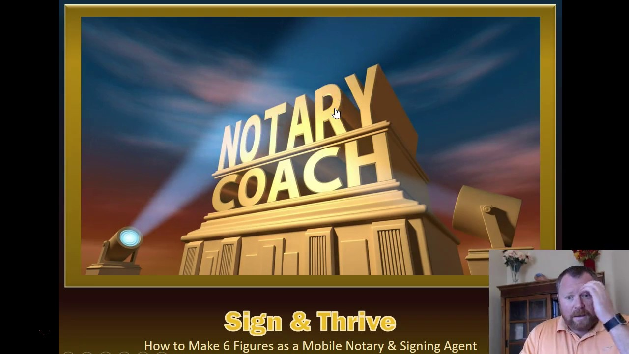 Mobile Notary and Loan Signing Agent Training