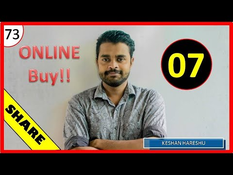 Online buying  Colombo share market (73 th lesson)