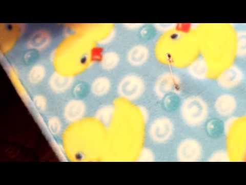 how-to-make-a-fleece-tie-blanket