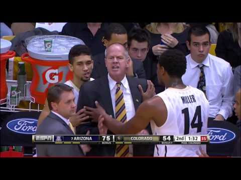 Arizona vs Colorado: Head Coach Technical Foul