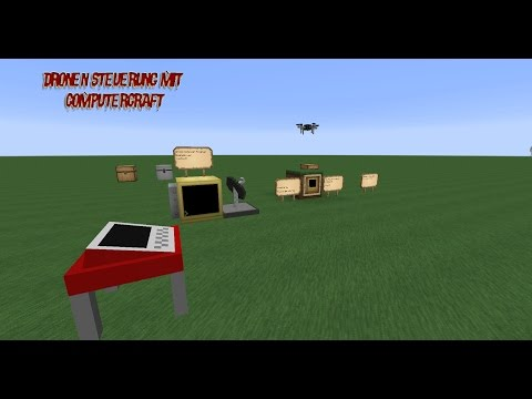 [MC 1.7.10] Computercraft gesteuerte Pneumatikcraft Drone Tutorial [German-HD]