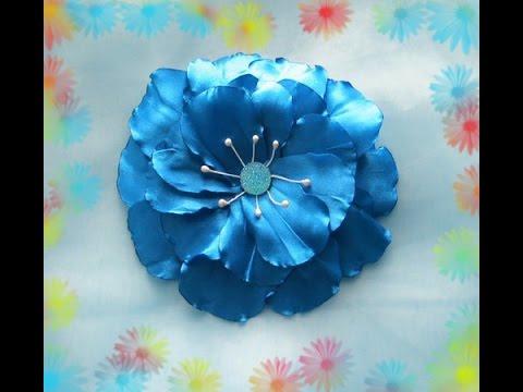 Цветок индиго