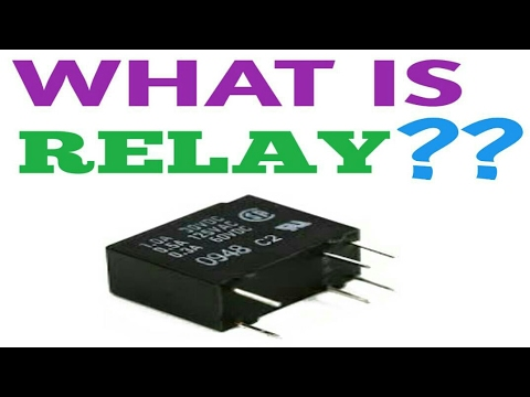 What Is Relay Switch And Working Principle Of Relay In Hindi YouTube