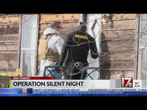 Nash County deputies carry out Silent Night roundup