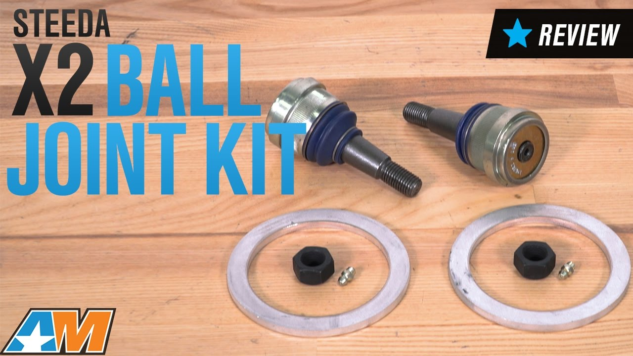 How to Install a Steeda X2 Ball Joint Kit on Your 1994-2004